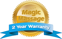 Magic Massage 2 Year Warranty