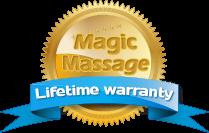 Magic Massage Lifetime Warranty