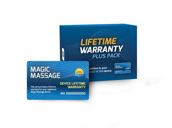 Magic Massage Lifetime Warranty Pack-1231