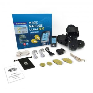 Magic Massage Ultra 1610 Acupressure TENS Shoe Combo-0