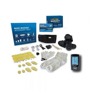 Magic Massage Ultra 1610 Pulse Massager & Complete TENS Accessory Collection-0